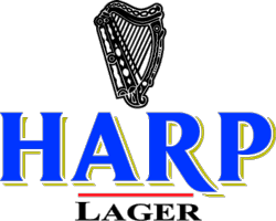 Harp Lager is available at TP's Irish Restaurant and Sports Pub in Rochester, New York