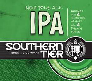 Southern Tier IPA bottles are available at TP's Irish Restaurant and Sports Pub in Rochester (Penfield), New York